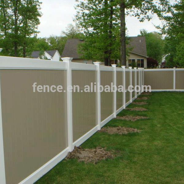 ビニールプラスチック木材プライバシーのフェンス-フェンス、トレリス、ゲート問屋・仕入れ・卸・卸売り