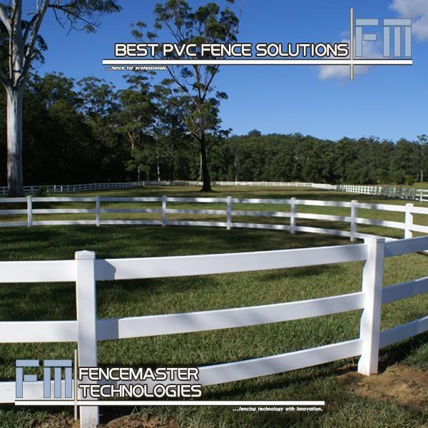 100%バージンビニール白pvc馬フェンス-フェンス、トレリス、ゲート問屋・仕入れ・卸・卸売り