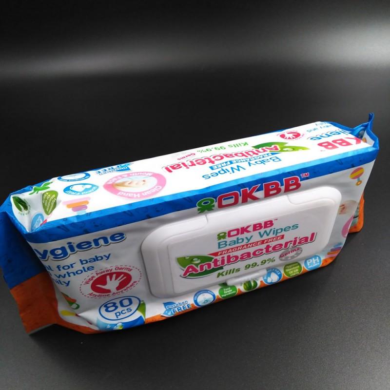 Oemソフト赤ちゃんプレミアムウェットワイプウェットティッシュ問屋・仕入れ・卸・卸売り