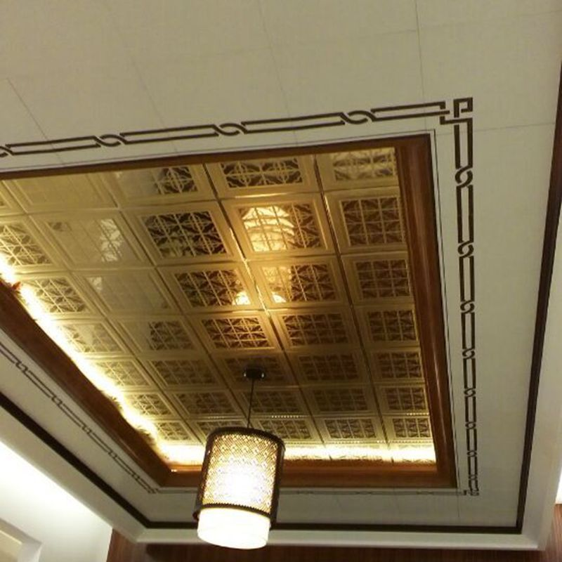 現代の家庭の装飾の天井のタイル異なるパターンを持つ-アルミニウム複合パネル問屋・仕入れ・卸・卸売り