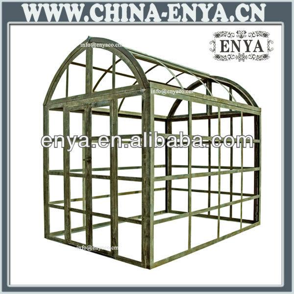 熱い販売の庭の温室、 鉄コンサーバトリー問屋・仕入れ・卸・卸売り