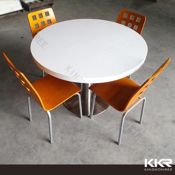 アクリルラウンドダイニングテーブルと椅子、 安いダイニングテーブル販売のための問屋・仕入れ・卸・卸売り