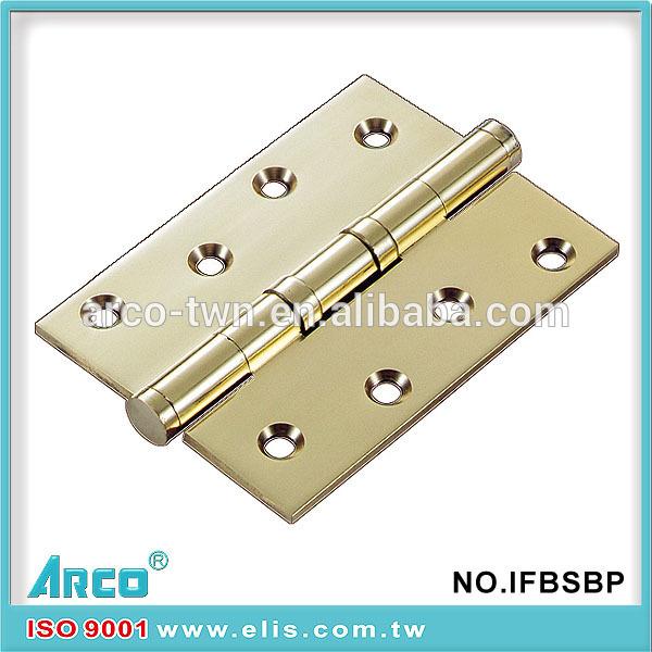 良質の鋼のドアのヒンジ、 真鍮メッキ鉄スチールドアのヒンジ問屋・仕入れ・卸・卸売り