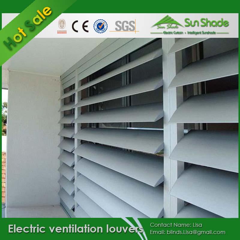 調節可能な電気換気ルーバー外装/自動ルーバー問屋・仕入れ・卸・卸売り