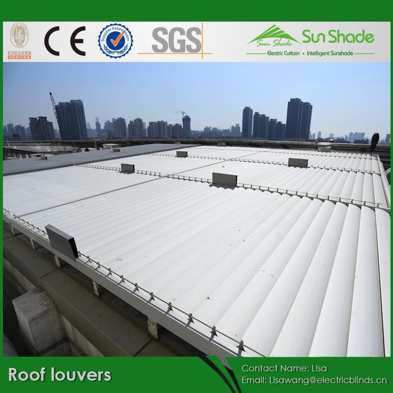 調節可能なサンシェードにモーターを備えた屋根のルーバープロジェクト問屋・仕入れ・卸・卸売り