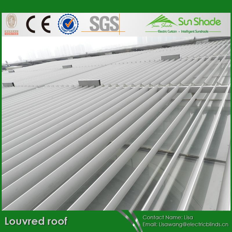 自動アルミ合金太陽シェーディングルーバーの屋根問屋・仕入れ・卸・卸売り