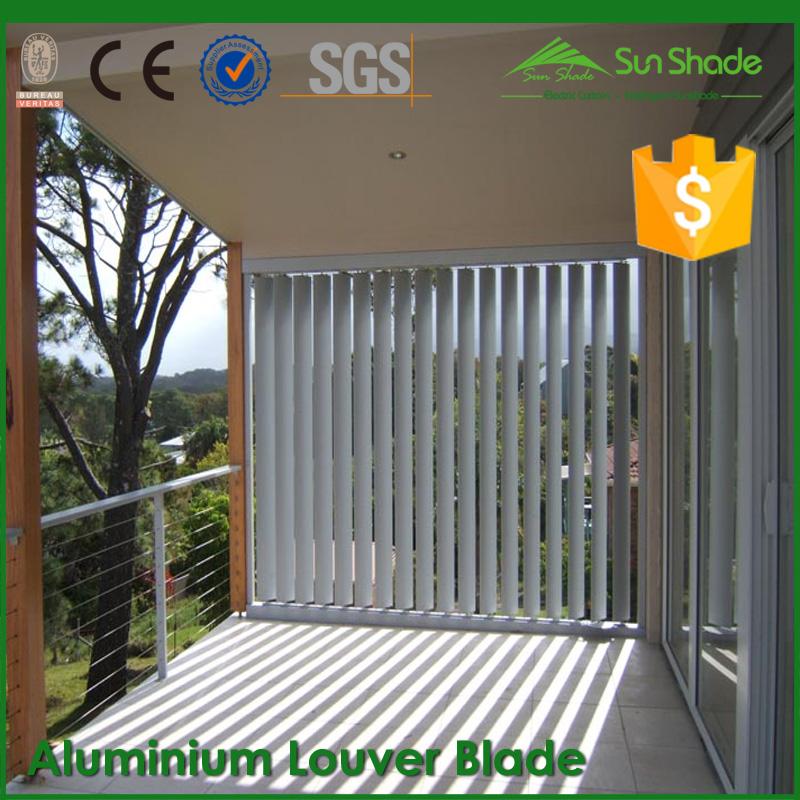 太陽シェーディング システム 150 ミリメートル/200 ミリメートル アルミ ルーバー刃問屋・仕入れ・卸・卸売り