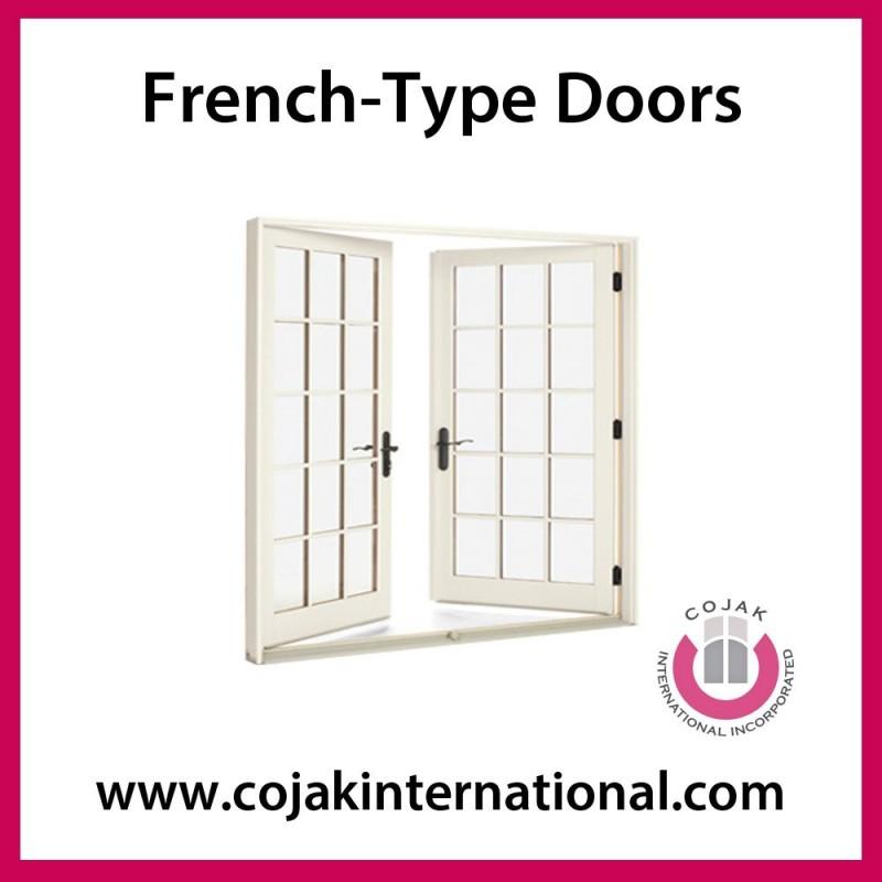 Upvcフレンチ- 型のドア問屋・仕入れ・卸・卸売り