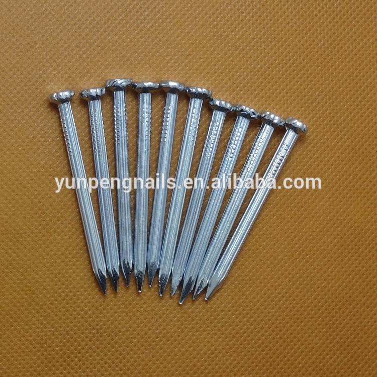 電気亜鉛めっきコンクリート釘l: 20ミリメートル〜120ミリメートル径。 1.6mm-5.5mm問屋・仕入れ・卸・卸売り