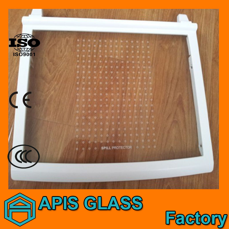 3mm-12mm厚強化ガラス冷蔵庫の棚用問屋・仕入れ・卸・卸売り