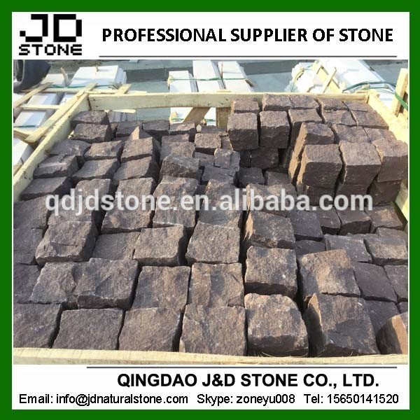 Cubestone/暗赤色砂岩敷石問屋・仕入れ・卸・卸売り