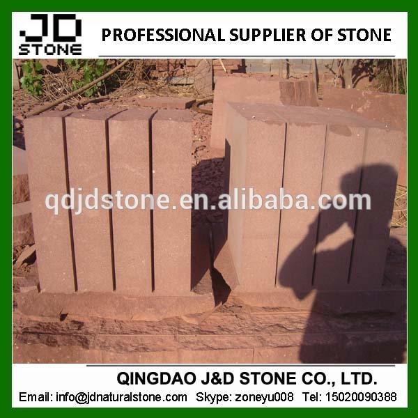 安い赤砂岩ブロック販売のための問屋・仕入れ・卸・卸売り