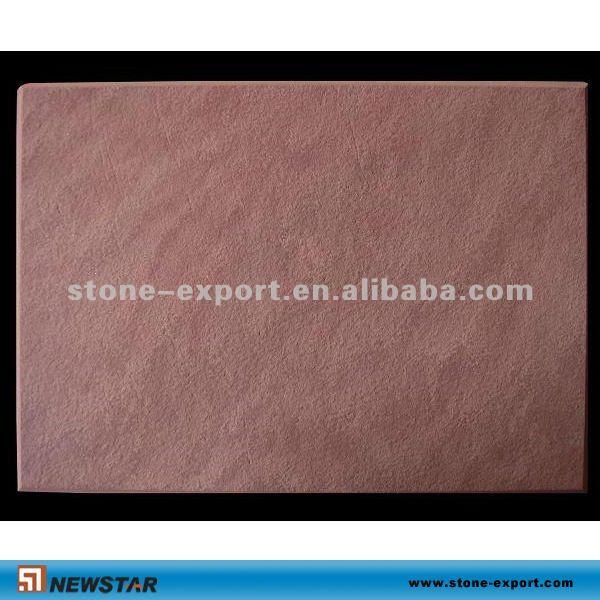 赤い色の砂岩は色の砂岩pavingsをタイルを張る問屋・仕入れ・卸・卸売り