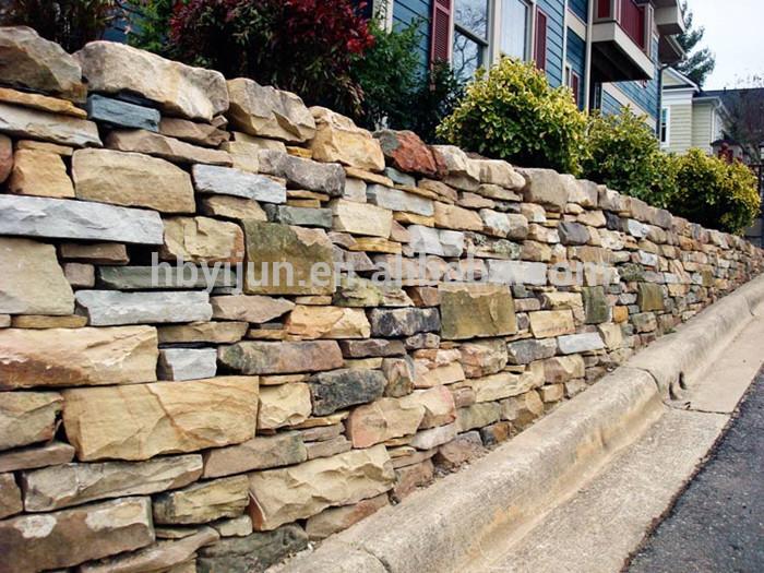 自然な外装壁の装飾の砂岩のフェンス問屋・仕入れ・卸・卸売り